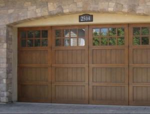 Ranch House Garage Doors