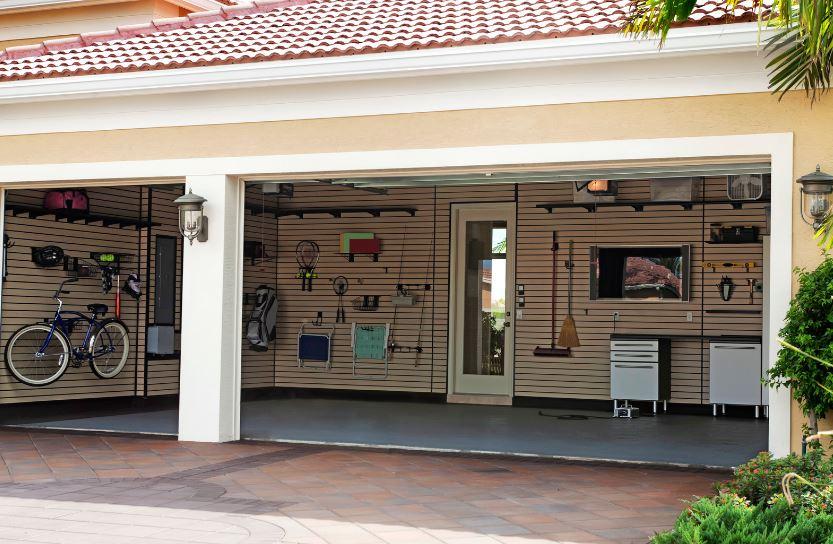 CA Overhead Door Organize Garage